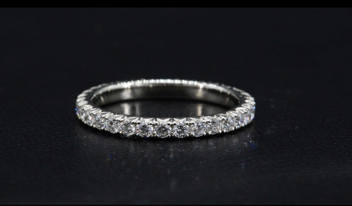 The Ultimate Delicate Heart Wedding and Anniversary Ring