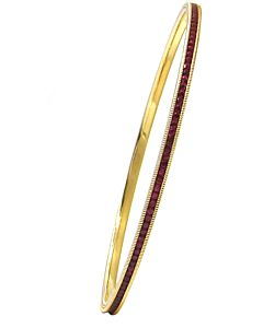 Ruby Slip-on Eternity Bangle
