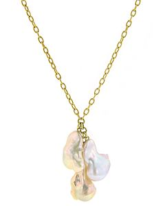 eli jewels baroque south sea drop necklace