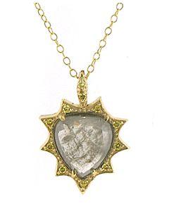 Barry Kronen's Unique Diamond Heart Pendant