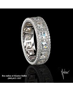 Blaze Diamond Eternity Ring