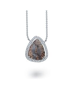 Teardrop Diamond Pendant from Di Massima