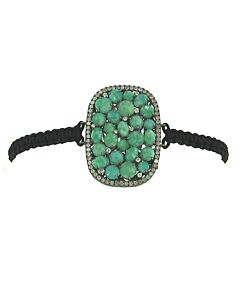Amazonite and Diamond Bracelet from Di Massima