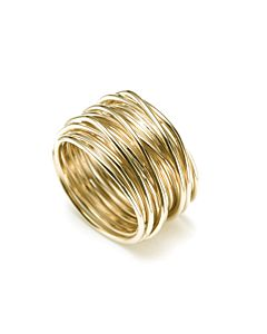 18K Gold Wire Ring