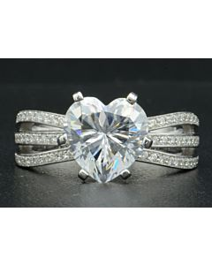 Bouquet of Light Diamond Ring