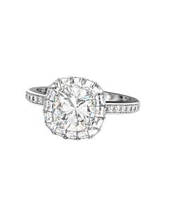 Cushion Cut Ring of Fire