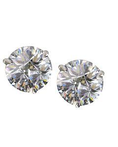 Divine Cut diamond studs