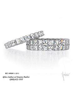 Blaze Diamond Anniversary Ring