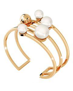 Rebecca Five Row Bronze Cuff Bracelet