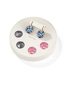 Small Siriana Earrings with Interchangeable Drops