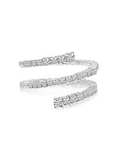 Brevani Three Row SPRYNG  Diamond Ring