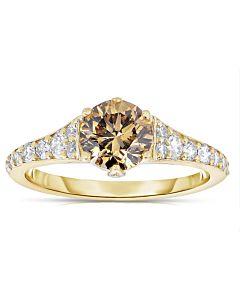 Fancy Cognac Diamond Ring