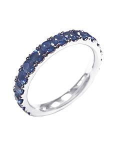 14K Blue Sapphire Ring