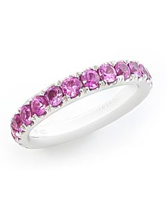 14K Pink Sapphire Ring