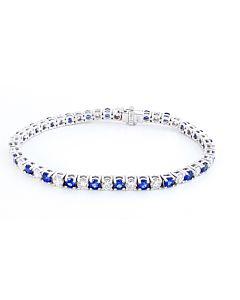 Sensational Sapphire and Diamond Bracelet