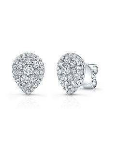 Pear Shaped Studs with Jackets