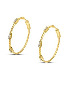 Flexible Hoop Earrings