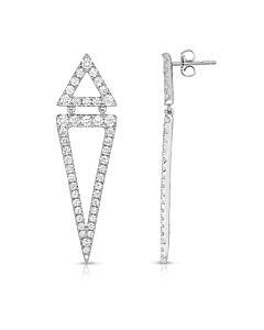 Distinctive Diamond Earrings