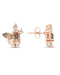 Fancy Shape Diamond Earrings