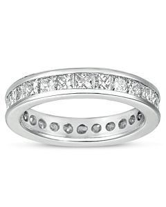 Diamond Eternity Ring, size 4.5