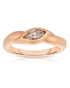 Marquise Cut Stacking Ring
