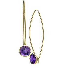 Comet Gemstone Earrings