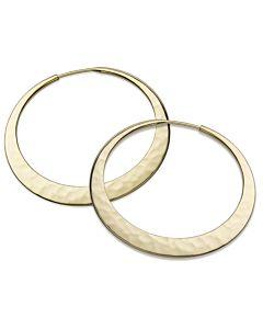 Eclipse Hoop Earrings