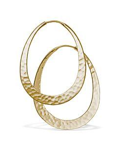 Oval Eclipse Earrings