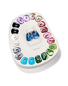 Medium Size Puzzle Earring Set