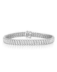 Cascade Eternity Bracelet