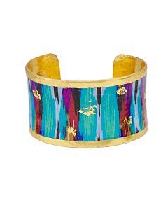 Boho Blue Cuff Bracelet
