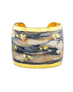 Blue Marble Cuff Bracelet