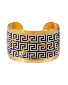 Greek Key Cuff Bracelet