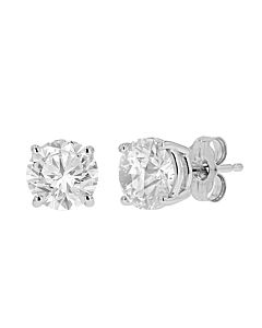 2 ct diamond stud earrings