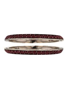 Ruby Bookend Guard Rings