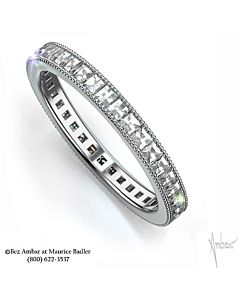 Blaze Diamond Eternity Band