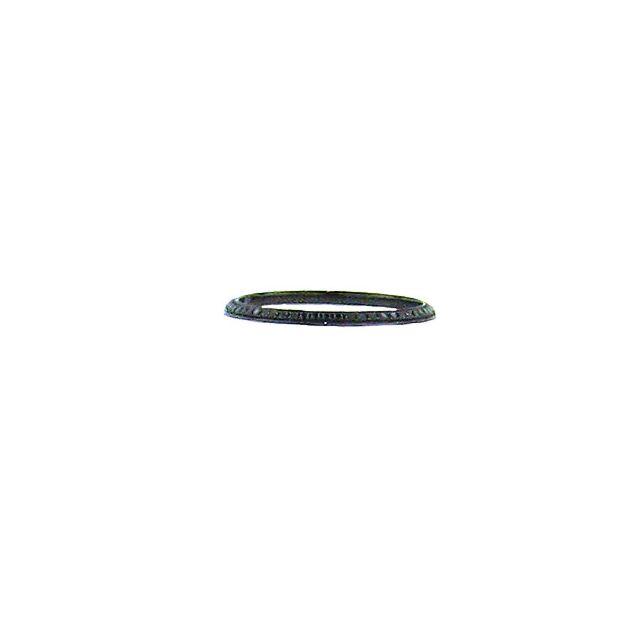 Black Diamond Bookend Ring