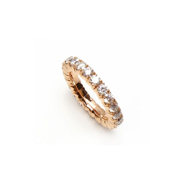 Flexible One Carat Diamond Eternity Ring