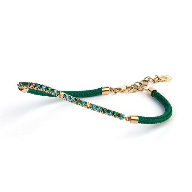 Capri Collection Paradiso Topaz w/Green Cord
