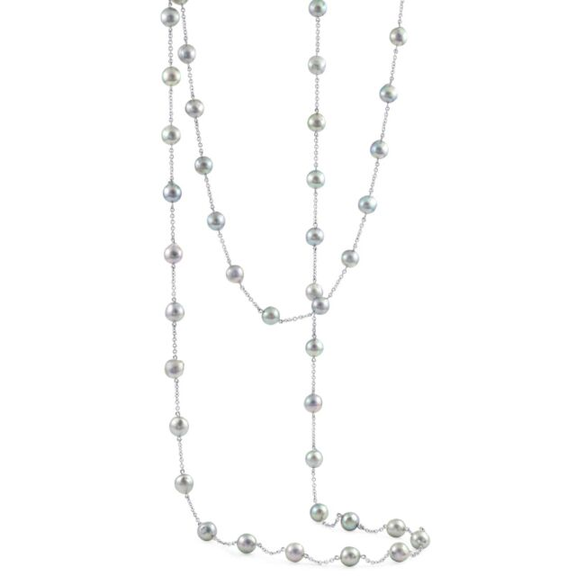 Semi Baroque Pearl Necklace