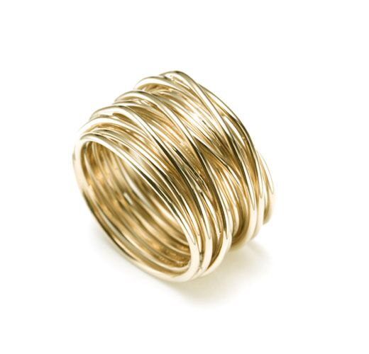 Gold Wire Ring | Maurice Badler New York City Fine Jewelry Store For Roberto Coin