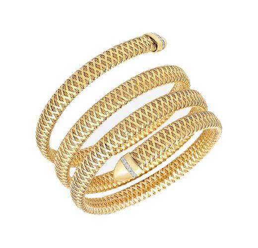 Maurice Badler New York City Fine Jewelry For Roberto Coin Bez Ambar Pandora And More Primavera 4 Row Flexible Diamond Snake