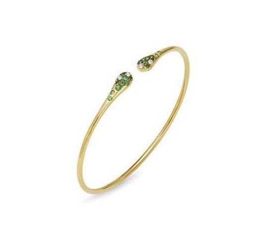355124e18c5 Maurice Badler | New York City fine jewelry store for Roberto Coin, Bez  Ambar, Pandora, and more Diamond & Emerald Iside Cuff Bracelet