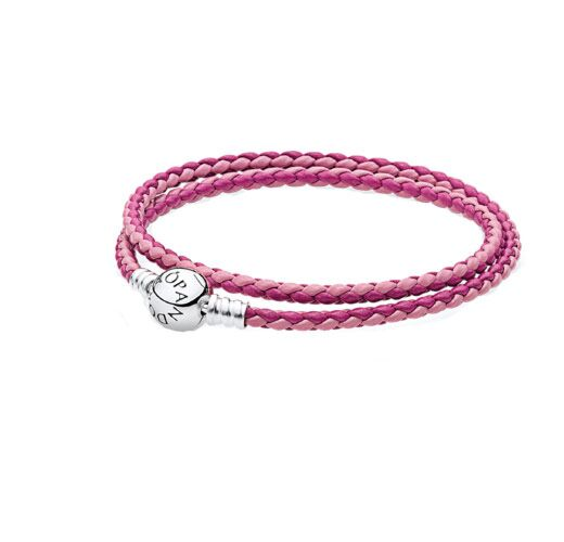 Maurice Badler New York City Fine Jewelry For Roberto Coin Bez Ambar Pandora And More Woven Mixed Pink Leather Bracelet