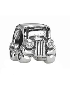 retired sterling silver car charm