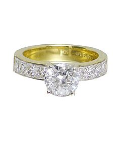Bez Ambar Quadrillion Diamond Ring Mounting