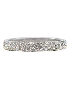 Sparkling Diamond Stacking Ring