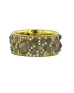Di Massima's Rough Diamond Eternity Ring