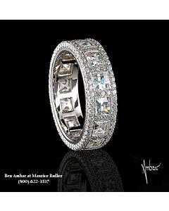Blaze Diamond Eternity Ring