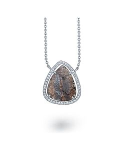 Teardrop Diamond Pendant from Di Massima